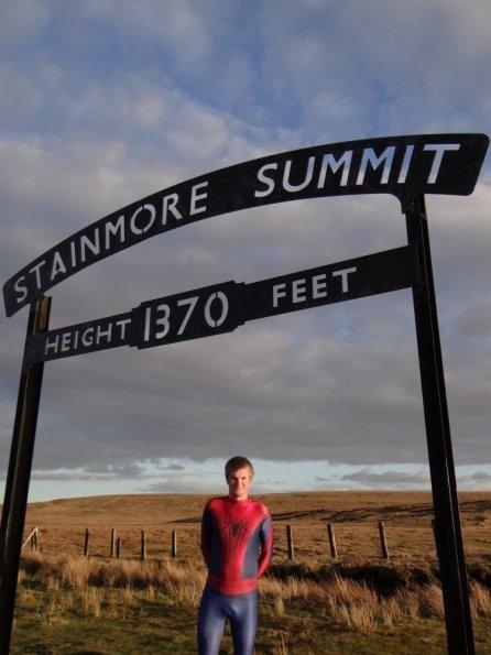 Spiderman at Stainmore Summit