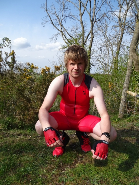 Synergy Red Trisuit