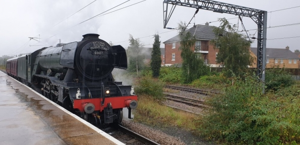 LNER Class A3 4472 Flying Scotsman at Grantham