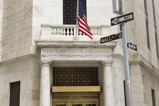 New York Stock Exchange Building Front