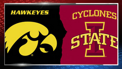 cyclones vs. hawkeyes