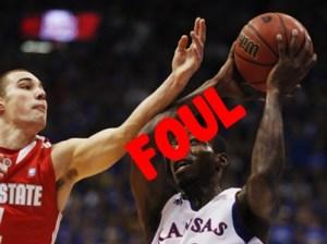 Basketball foul