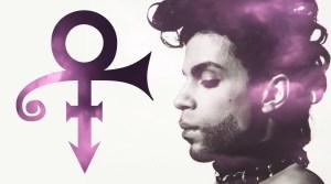 Prince and purple symbol
