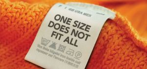 One Size Does Not Fit All on tag