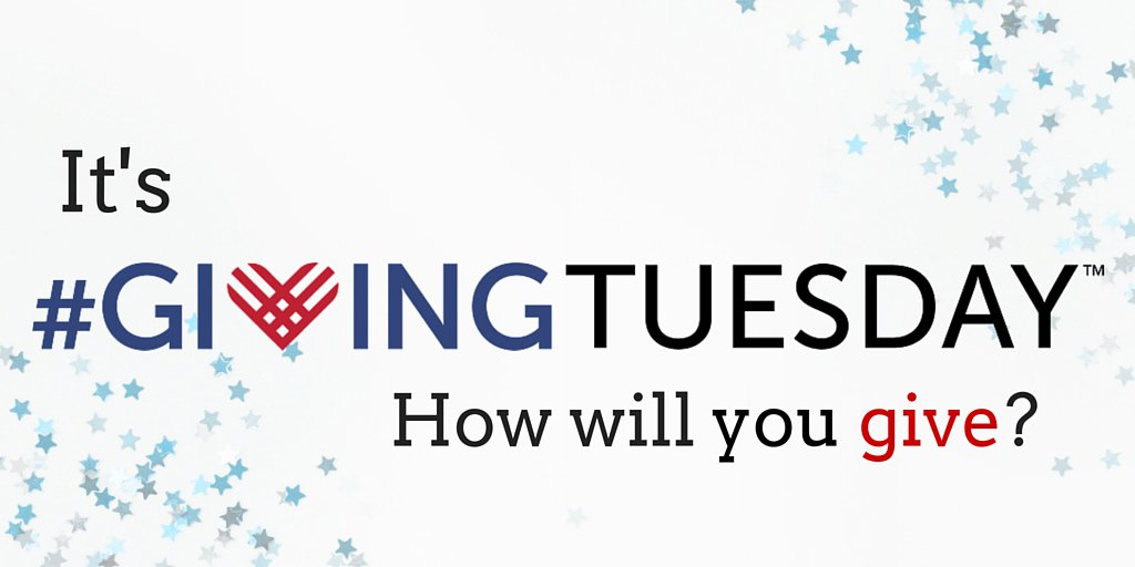Giving Tuesday How Will You Get