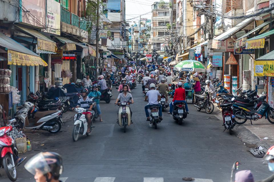 Strasse Saigon