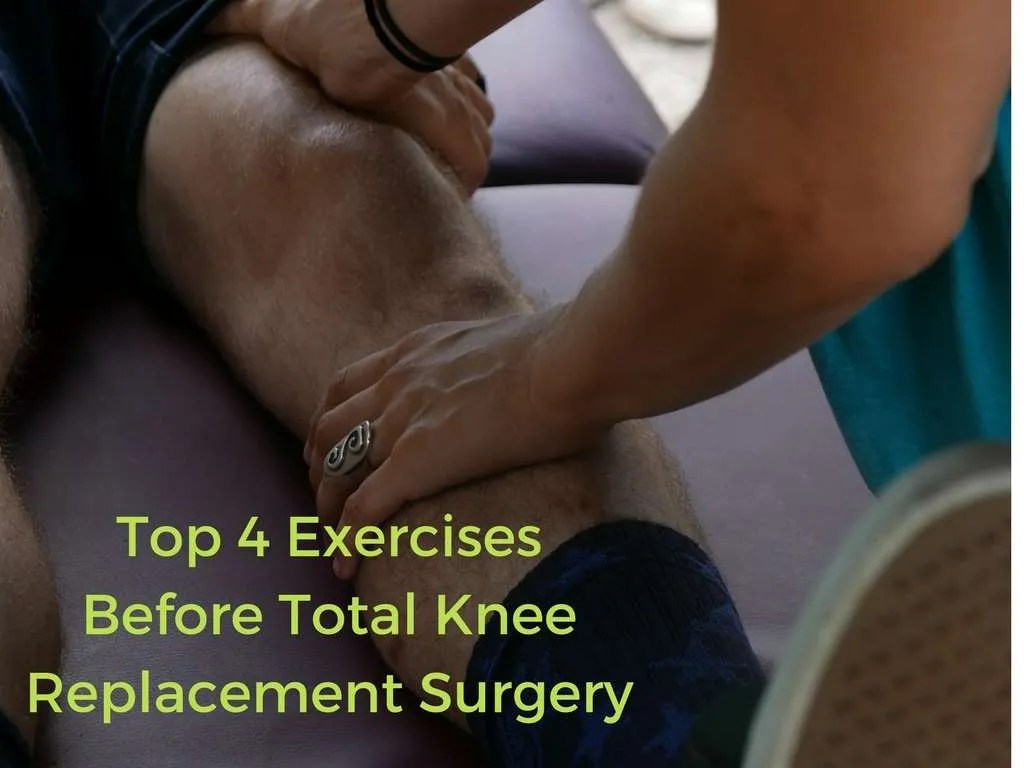 Printables Of Exercises For Pre Knee Replacement Surgery