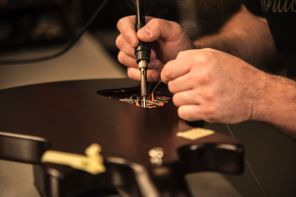 Gordon Smith Guitars workshop
