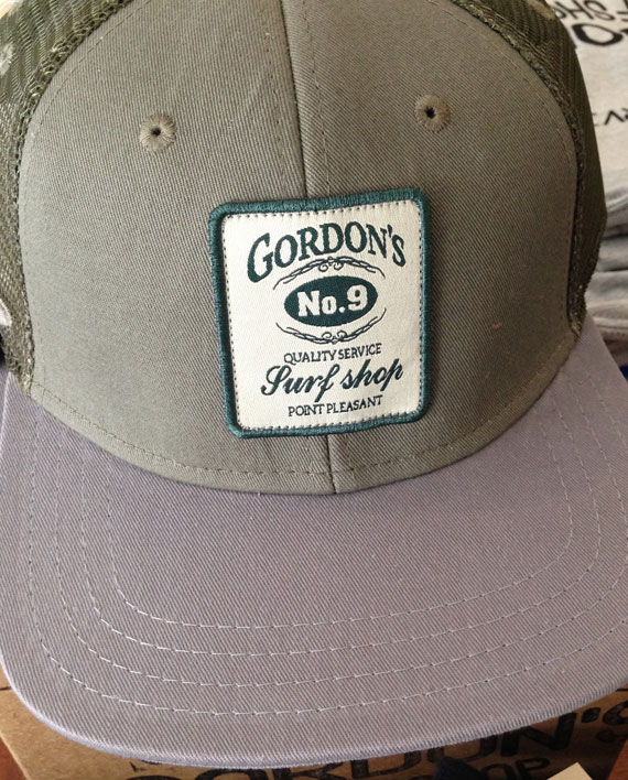 No  9 Mesh Hat - Gordon's Surf Shop - Surfboards, Surf Clothing, Surfboard  Repairs, Sunglasses, & More - Point Pleasant Beach, NJ