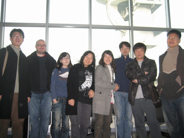 Photo by Kim Il Ja: click to see source. From left to right, the author participants are: