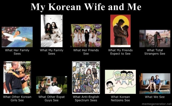My Korean Wife and Me
