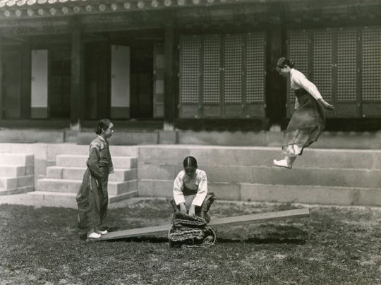 Korea See-saw Moore National Geographic