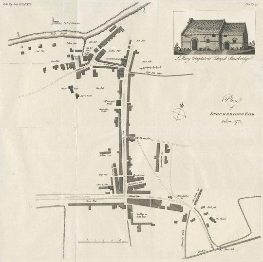 Stourbridge fair map