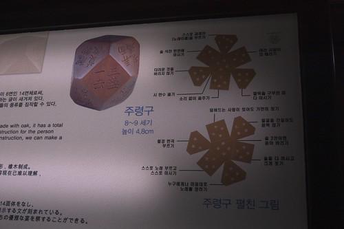 Crazy Ancient Korean Polyhedral Party Dice