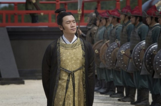 Marco Polo's Jia Sidao (played by Chin Han). Photo by Phil Bray, click for source.