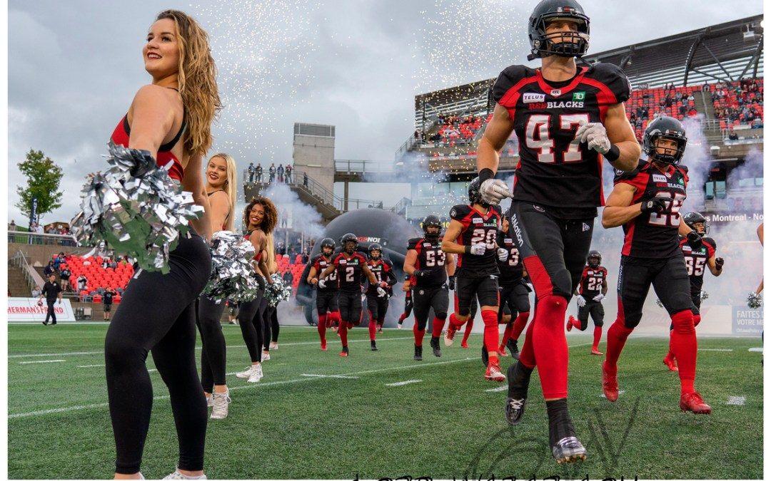Redblacks vs Eskimos 2019