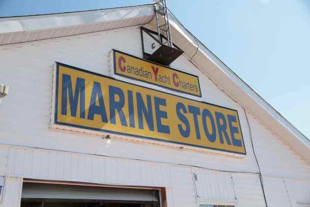 Gore Bay Marine Store.