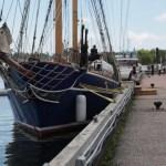 Antique style sailing vessel, the M.S. Playfair.