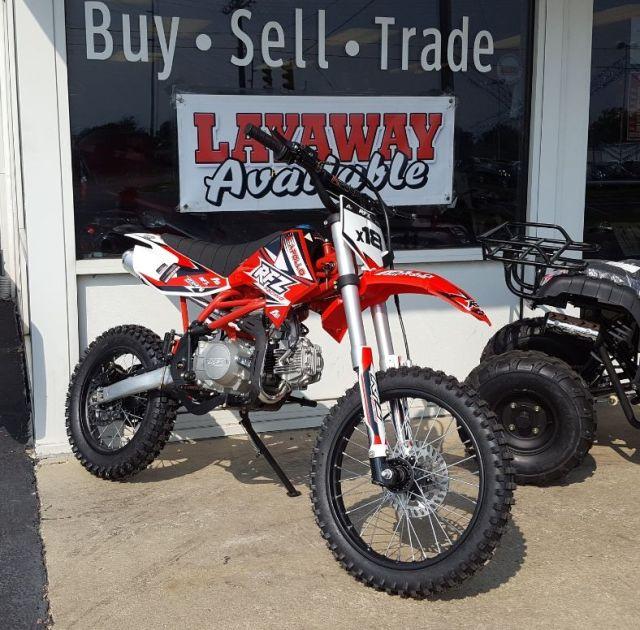 125 Dirt Bike X18 - $1099