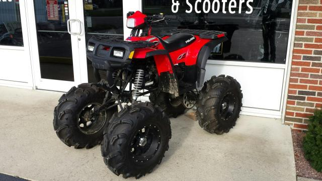 Polaris Sportsman 90 ATV - Monster, Custom Built, One-of-a-Kind (Front View)
