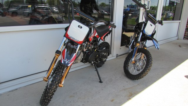 Apollo 100cc Semi-Auto Dirtbike