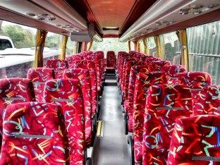 Luxury coach interior