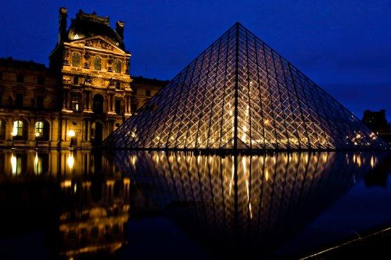 Bleu et Or au Louvre