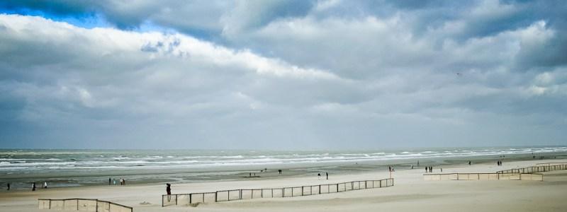 Avec la mer du Nord…..