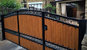 Wooden Clad Gate Example 1