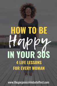 How to be Happy in Your 30s