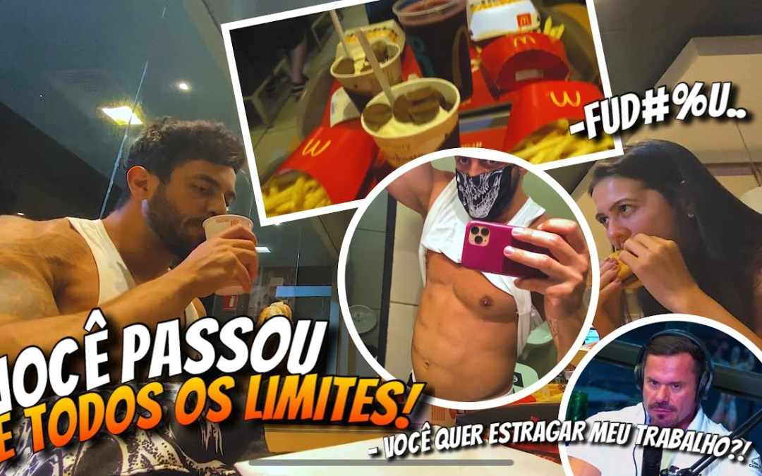 DIA DO LIXO SEM LIMITES NO MC DONALDS! *deu ruim*