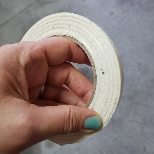 skinny strapping tape