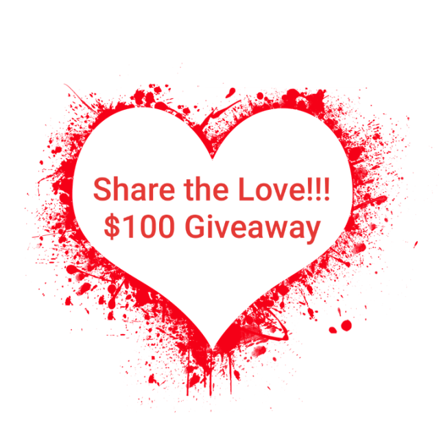 Share the Love $100 Giveaway