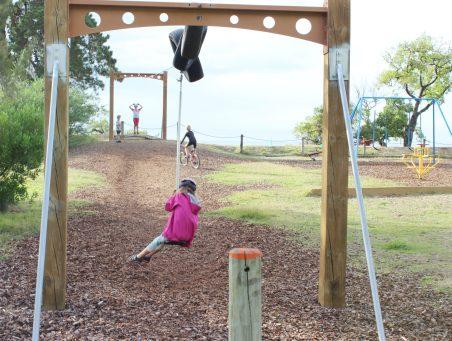 Playground fun at McKee Domain