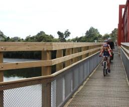 Cycle Bridge on Taramakau Bridge Day 2