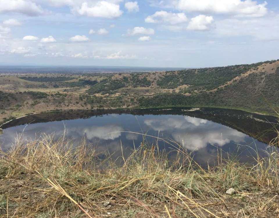 Lake Katwe Explosion Craters.