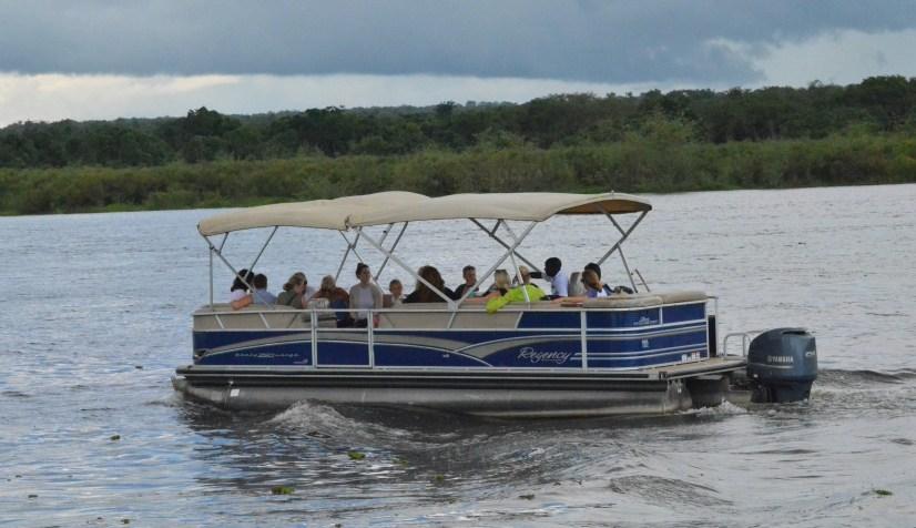 Boat trips murchison falls