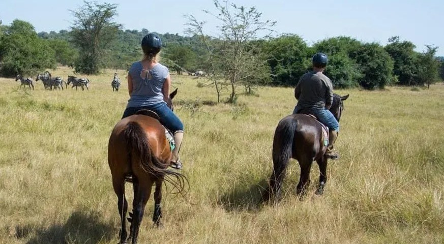 Horseback Riding in Lake Mburo National Park Uganda
