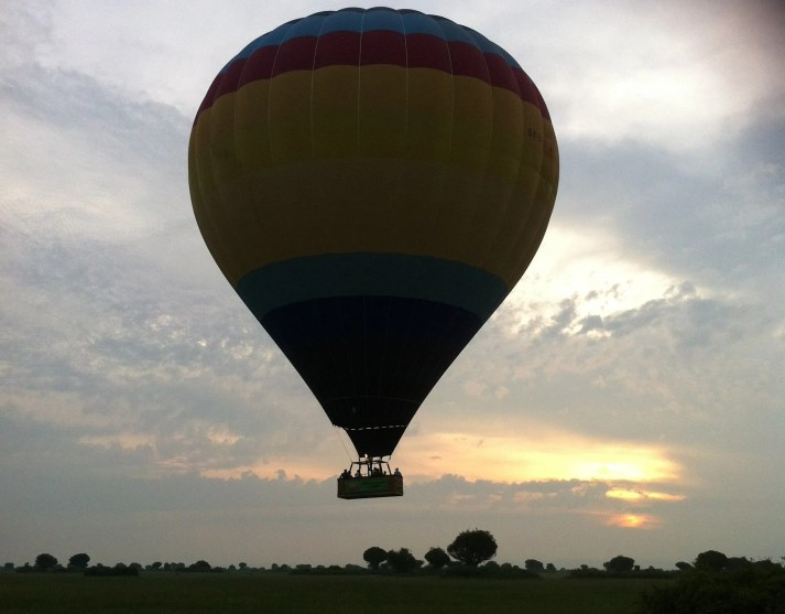 Balloon Safaris, Hot air Balloon in Murchison falls national park