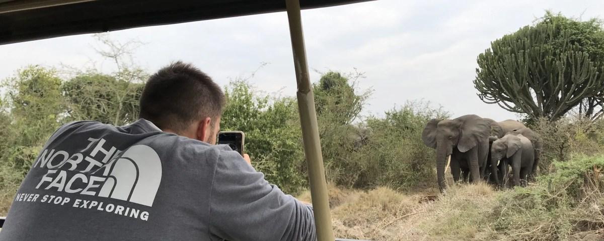 Wildlife Game drive Safari in Uganda