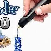 3Doodler 3D Printing Pen 2.0 & Doodle Stand Starter Kit