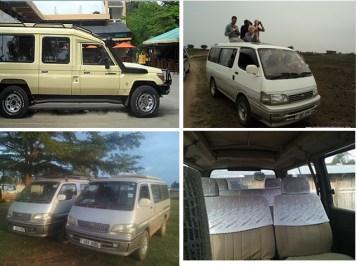 Safari car Hire, Tour Vans, Safari Vans for Hire in Uganda and Rwanda