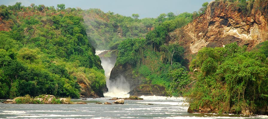 Uganda Safari - Murchison Falls National Park Safari - Game drive and Boat launch on the Nile