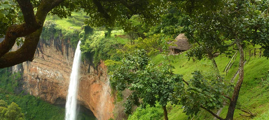 Sipi Falls Mt Elgon Safari Tour, Eastern Uganda Tour
