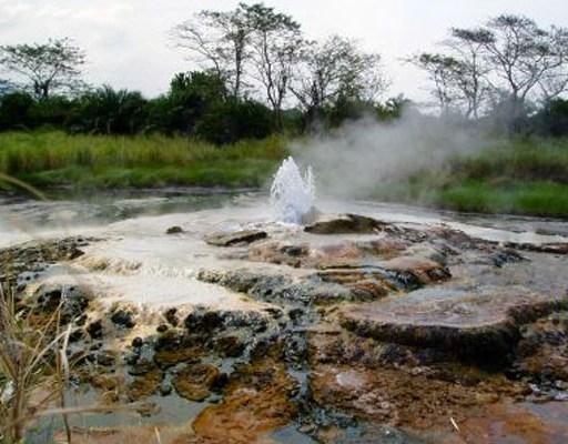 hot springs in Uganda