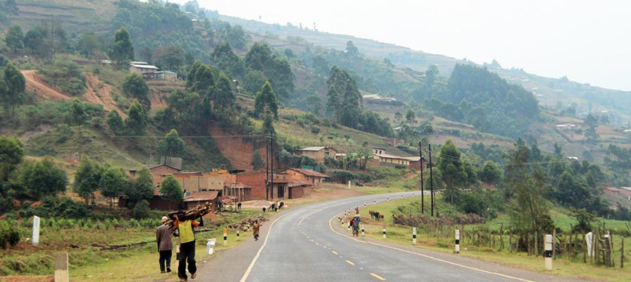 traveling to Bwindi Impenetrable Forest