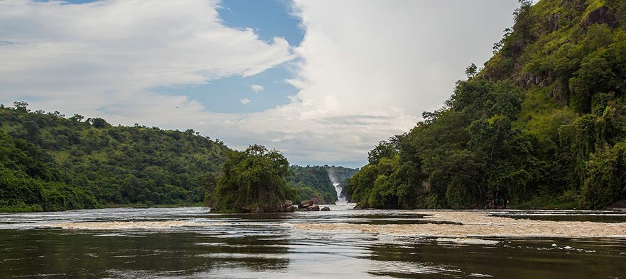 boat safari launch on Victoria Nile in Murchison Falls National Park