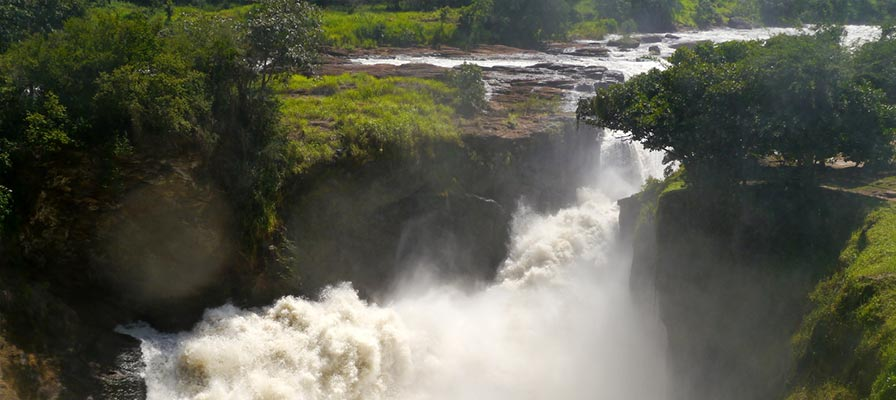 Visit top of the Falls and transfer to Kibale Forest National Park