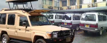 Uganda Safari Car Hire