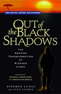 """cover image of """"Out of the Black Shadows"""" by Stephen Lungu"""